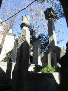 antico cimitero a Istanbul