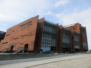 Museo Solidarnosc negli ex Cantieri Lenin a Danzica. Ossia come non deve essere un Sindacato dei Lavoratori.
