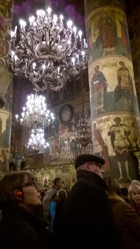 interno basilica nel Cremlino